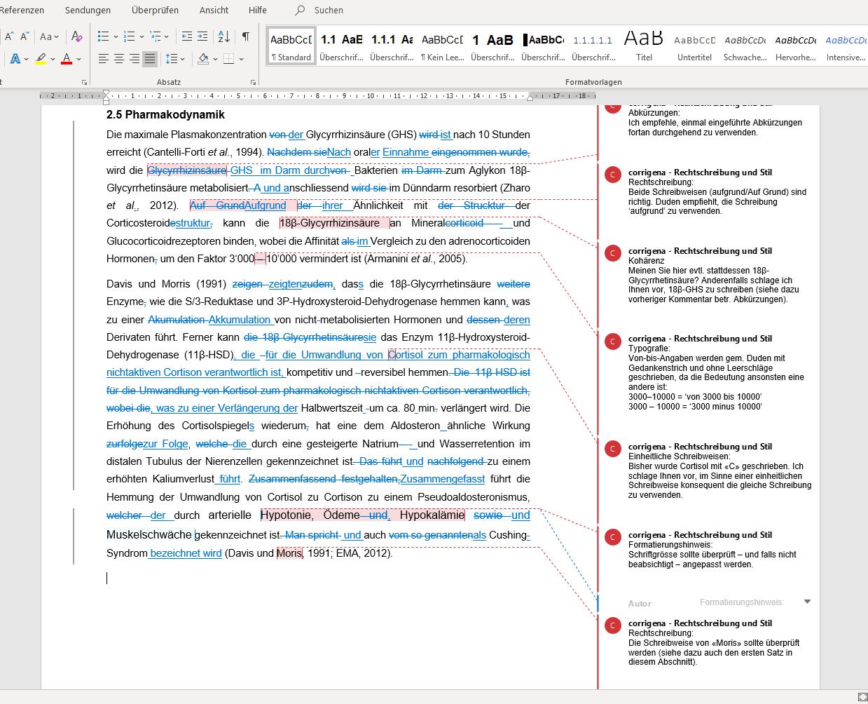 Korrektur-plus-lektorat Hochwertiges Lektorat